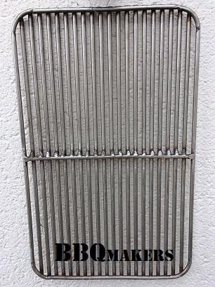 RVS BBQ rooster met ronde hoeken